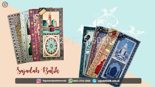 penjual sajadah batik +62 852-2765-5050