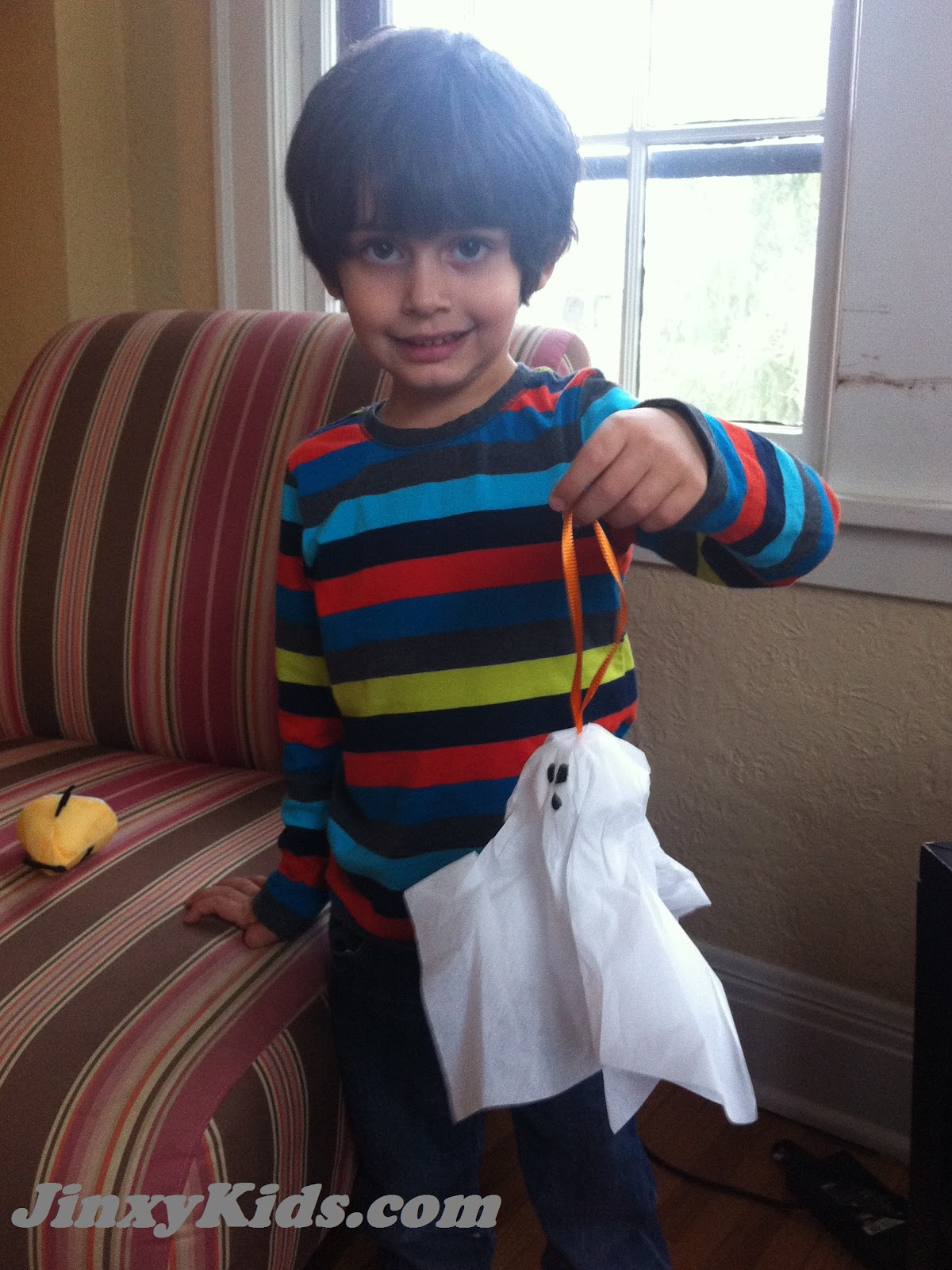 Halloween Craft Make An Egg Carton And Tissue Paper Ghost