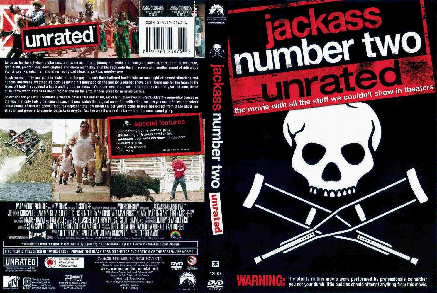 Jack Ass Dvd 86