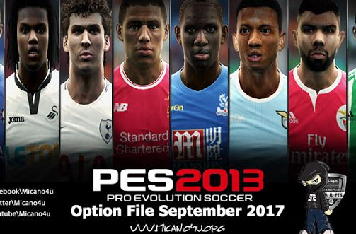 Pes 2013 Option File Released 01 09 2018 Micano4u Pes