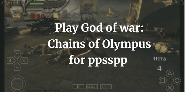 god of war chains of olympus psp iso highly compressed