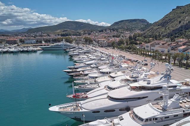 31 χώρες συμμετείχαν στο 6ο Μediterranean Yacht Show στο Ναύπλιο