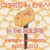 Cards in Envy Challenge~Floral And Fantasy: In the Mailbox selection