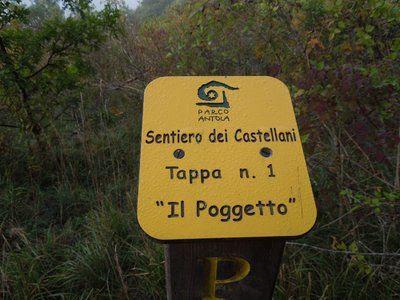 Gite in Liguria - Sentiero dei Castellani - Vobbia - Castello della Pietra
