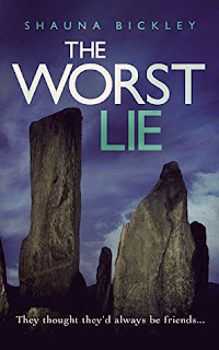 Photo of the book cover of The Worst Lie by Shauna Bickley