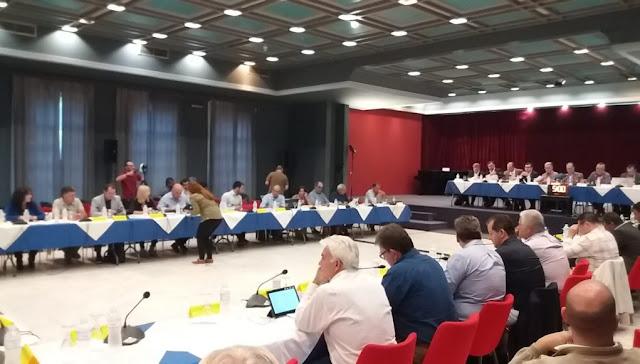 """Η """"Οριοθέτηση - Διευθέτηση του ποταμού Ερασίνου στην Αργολίδα"""" στο Περιφερειακό Συμβούλιο Πελοποννήσου"""