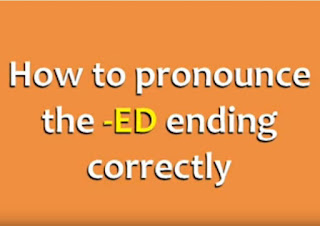 قواعد نطق نطق الافعال المنتهية ب ed بالاضافة الى تمارين وأمثلة ed ending: