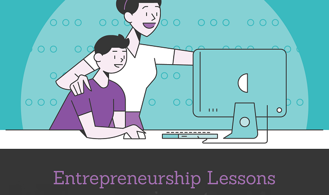 Moms are the best teachers when it comes to entrepreneurship