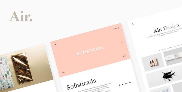 Air Portfolio Responsive Wordpress Themes