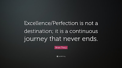 Perfection Excellence Quote