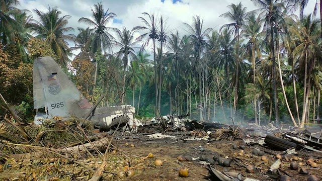 At least 29 killed in Philippine military plane crash