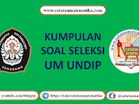 Download Soal UM UNDIP (Universitas Diponegoro)