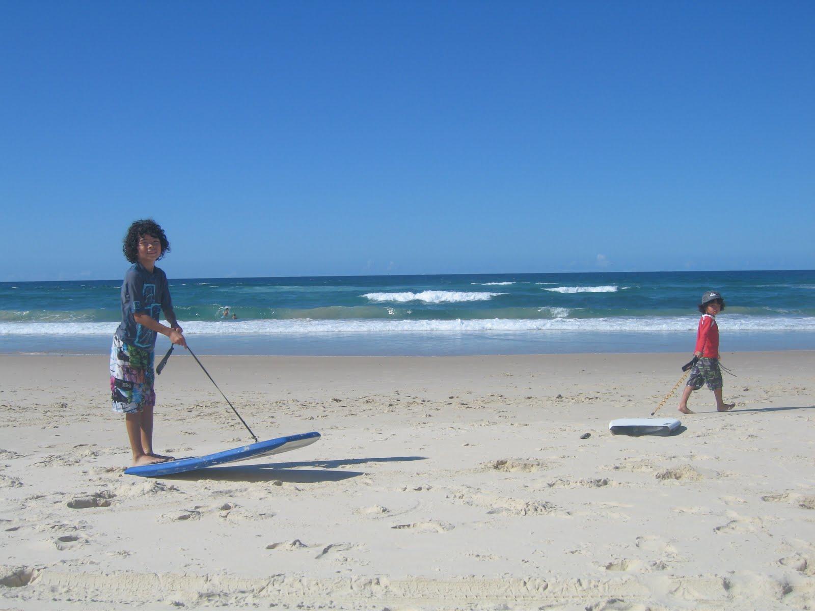 Australiaからの便り: 青い空、青い海。 Australiaか... Australia