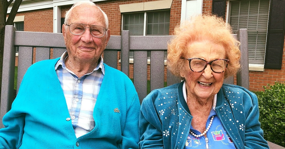 100-Year-Old Man And 103-Year-Old Woman Have Just Got Married