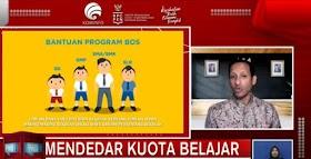 Mas Menteri Gelontor Rp2,6 T untuk Internet Gratis Guru dan Siswa Tiga Bulan ke Depan, Ini Mekanismenya
