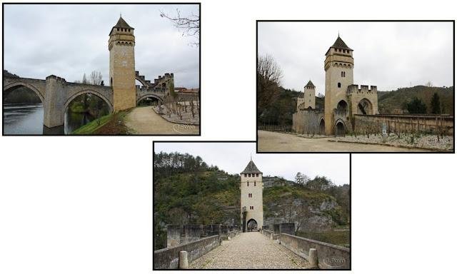 Puente Valentré de Cahors