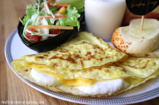 IMG 1710 - 台中西屯│1770 Cafe*棉花糖噗啾蛋好綿密。熱壓古巴麵包餡料滿滿。悠閒用餐好去處