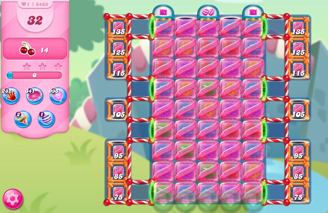 Candy Crush Saga level 8463