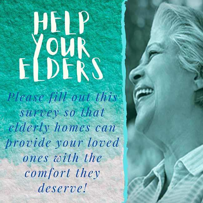 Help us to help the aging population in Sri Lanka by filling out the survey form | Palm Village Medi - Resort