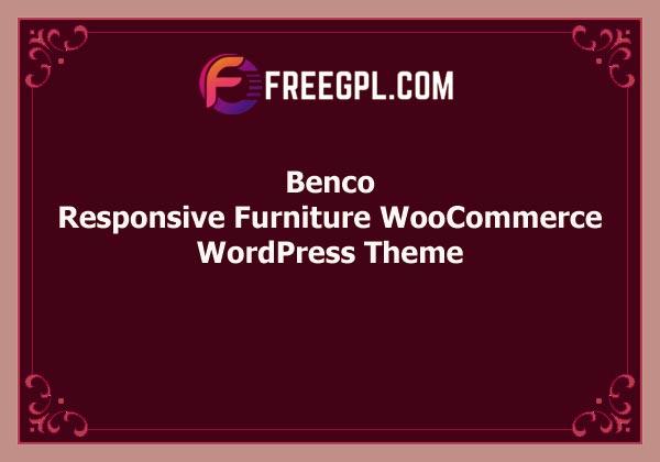 Benco – Responsive Furniture WooCommerce WordPress Theme Free Download