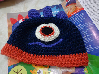 Les muestro los nuevos modelos de gorritos al crochet para niños f980832a024