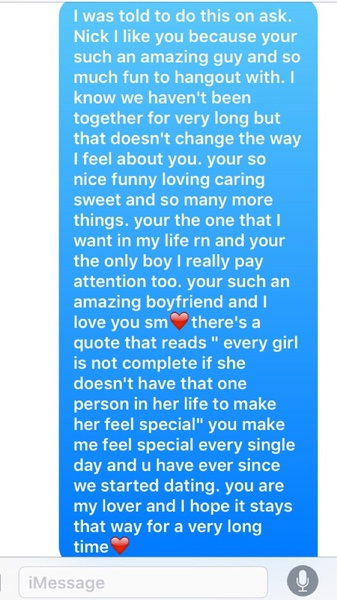 Long Paragraphs To Send To Your Boyfriend