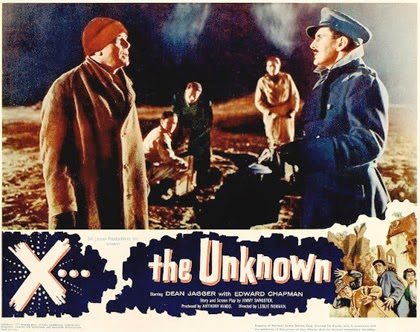 Lobbycard - X: The Unknown