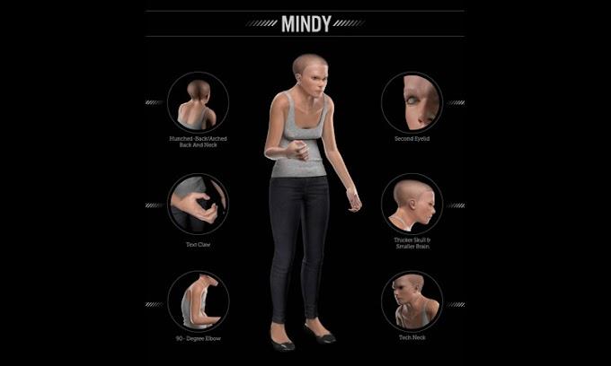 Por el uso ecxesivo de la Tecnologia el cuerpo humano sufrira cambios