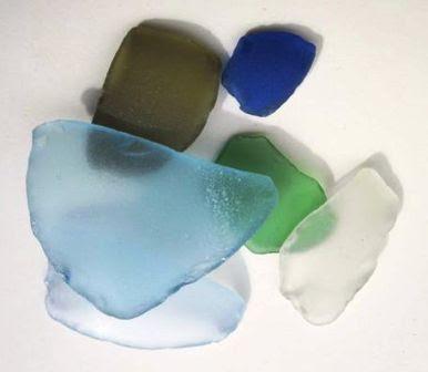 cara membuat sea glass tiruan