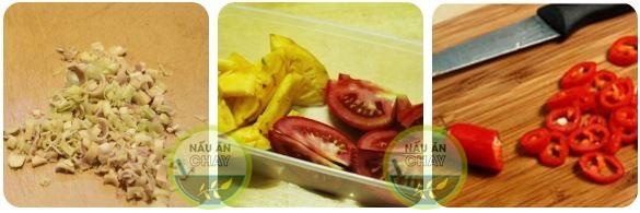 Công thức nấu món bún Thái chay siêu ngon
