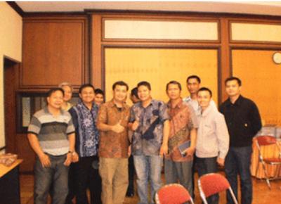 Foto usai pertemuan di Gedung PGI, Salemba - Jakarta (21 Nov 2010)