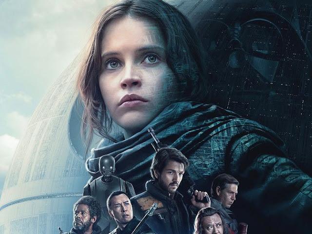 CINE ΣΕΡΡΕΣ, Rogue One: A Star Wars Story (2016), Gareth Edwards, Felicity Jones, Diego Luna, Alan Tudyk,