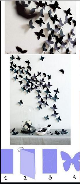 11 Tutorial Membuat Hiasan Dinding Dari Kertas Mudah Sederhana Dan Tidak Menguras Kantong 7