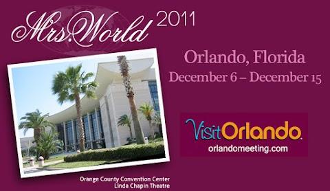 Mrs. World 2011 from Orlando, Florida