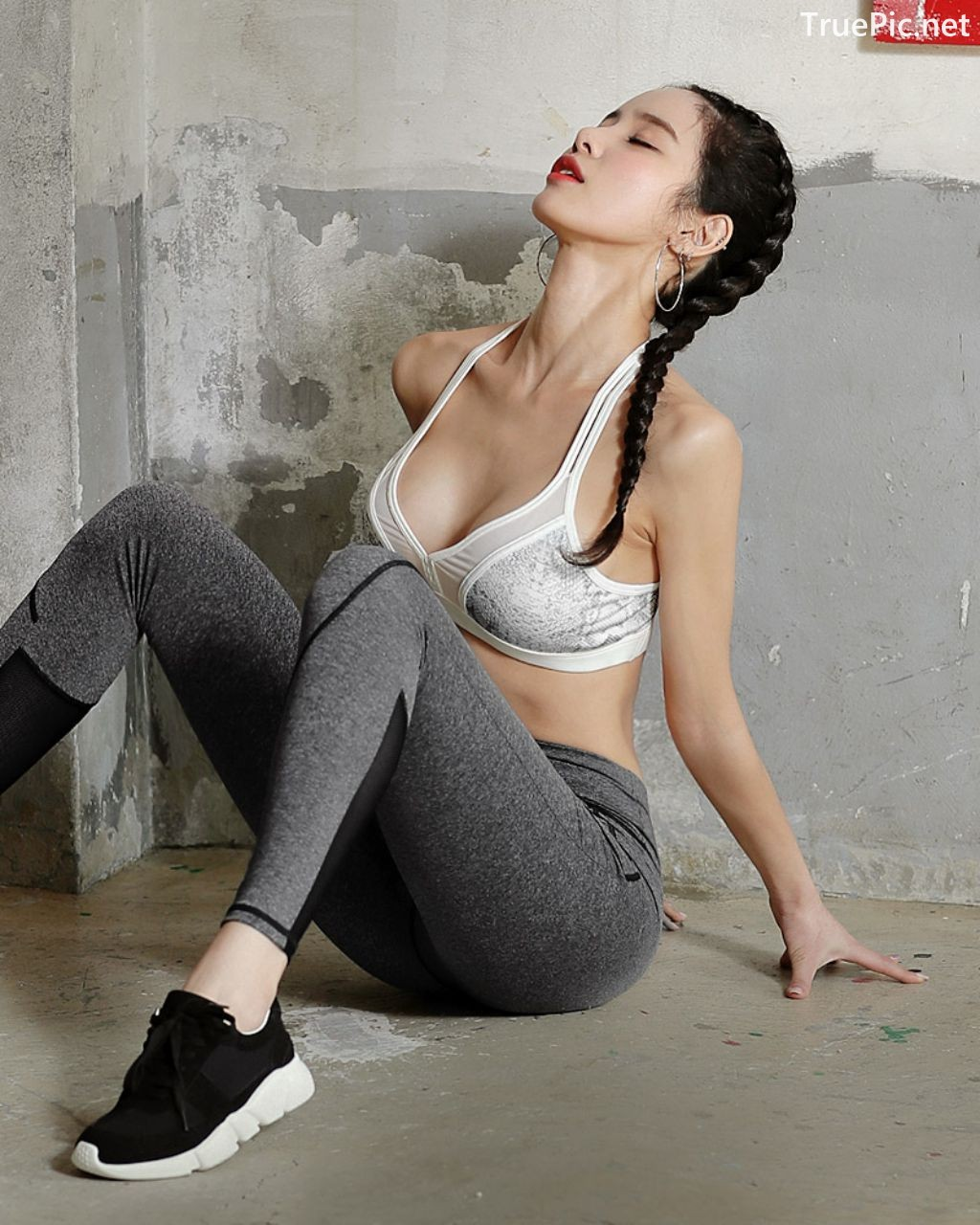 Image-Korean-Fashion-Model-Ju-Woo-Fitness-Set-Collection-TruePic.net- Picture-6