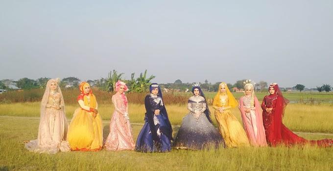 Puluhan Fotografer Dan Penata Rias Pebayuran Hunting Photoshot Pengantin Jelang New Normal