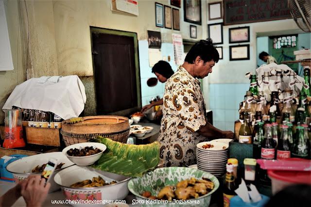 SOTO KADIPIRO – Jogjakarta, vindex tengker