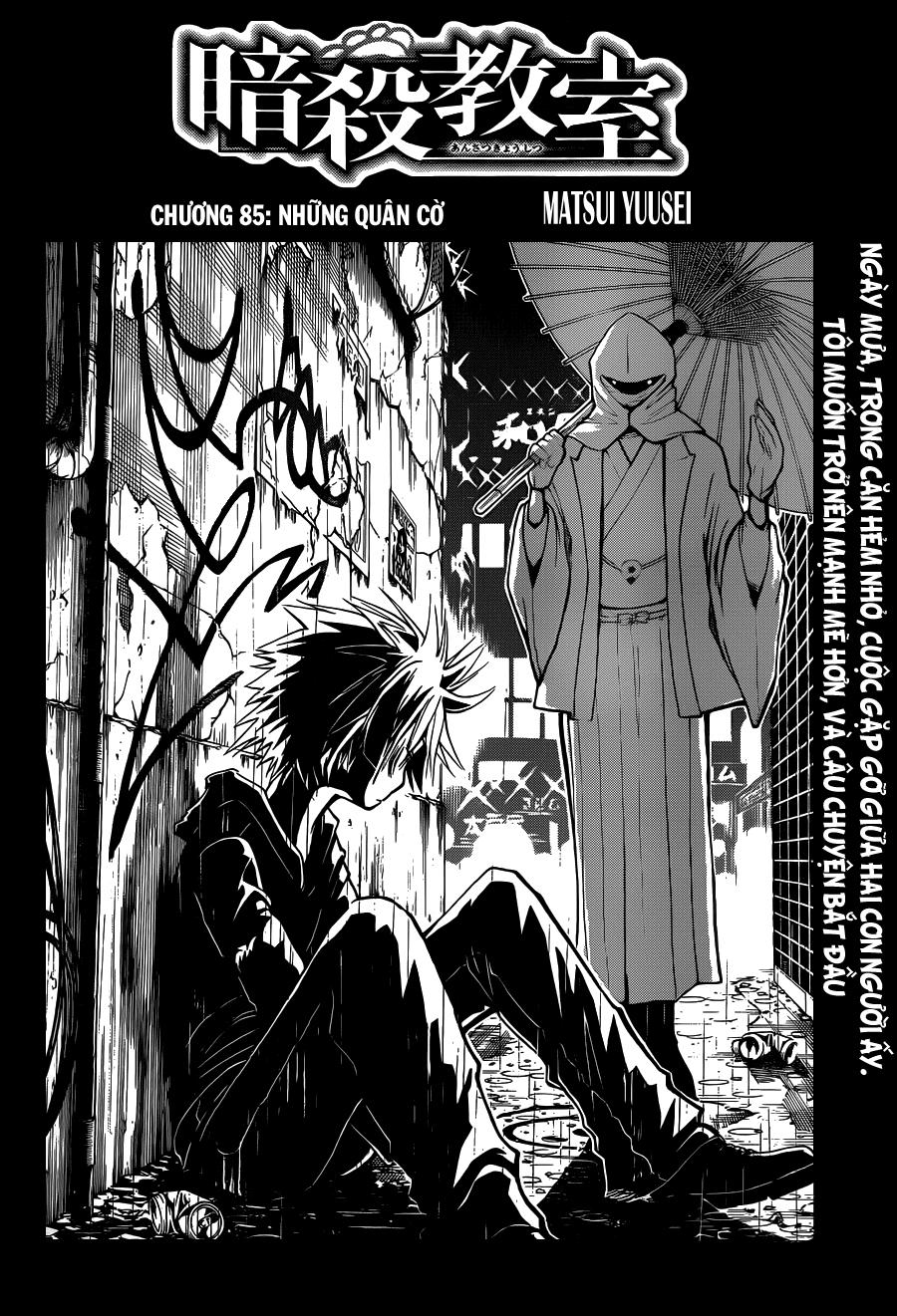 Ansatsu Kyoushitsu chap 85 trang 3