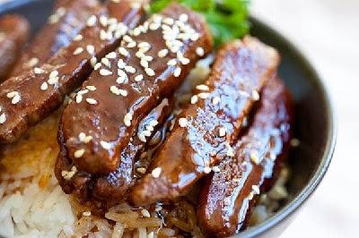 Resep Beef Teriyaki