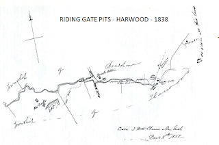 Riding Gate Pits, Harwood, 1838