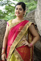 Actress Ronika in Red Saree ~  Exclusive celebrities galleries 040.JPG