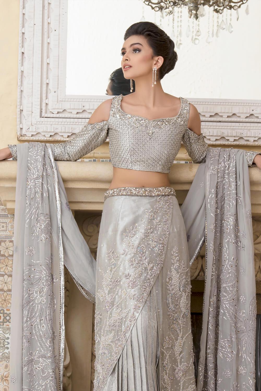 Bridal Saree by Nilofer Shahid