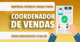 COORDENADOR DE VENDA
