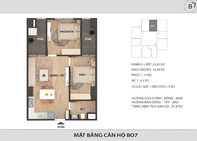 Chi tiết căn hộ B07