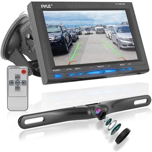 Pyle PLCM7500 Rear View Backup Car Camera