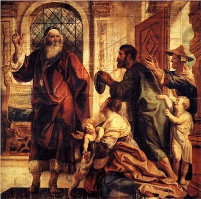 Usury is a great evil - Jacob Jordaens 1645