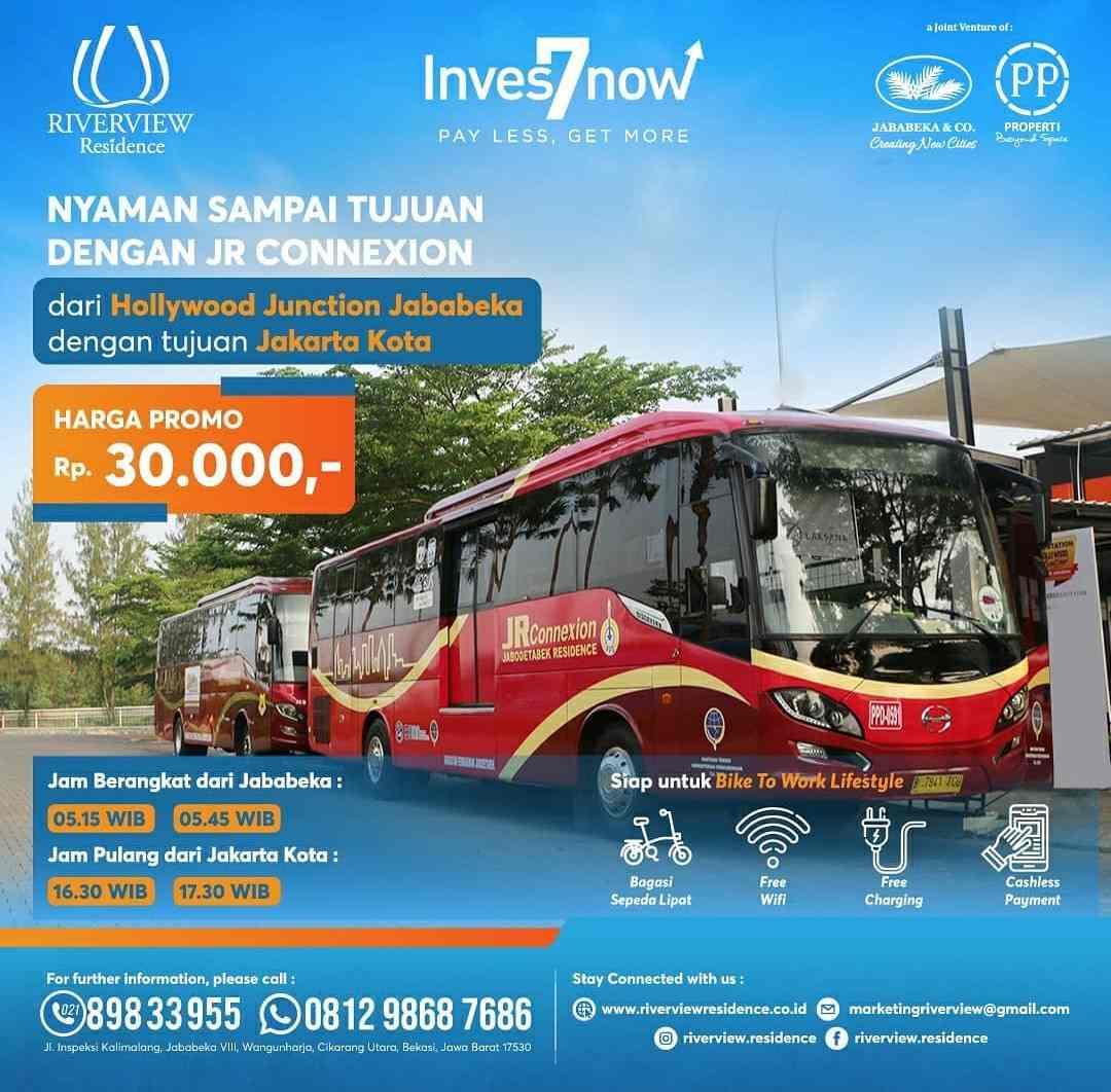 BUS JR Connexion Cikarang Jababeka - Jakarta