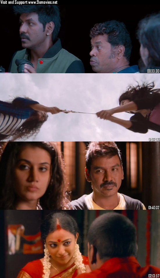 Kanchana 2 2015 UNCUT Dual Audio Hindi 720p HDRip 1.6GB