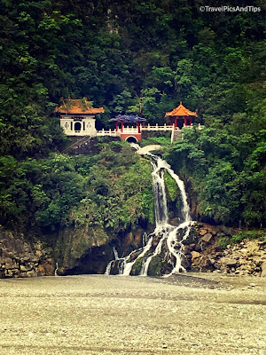 Temple, Eternal Spring Shrine, parc national de Taroko Gorges, Hualien, Taiwan