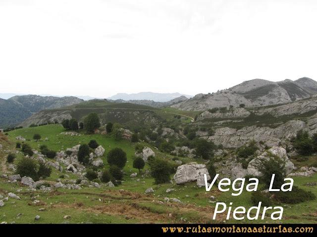 Ruta Pan de Carmen, Torre de Enmedio: Vega la Piedra
